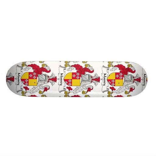 Massey Family Crest Skateboard