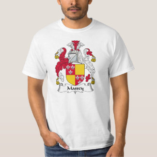 Massey Family Crest T Shirts