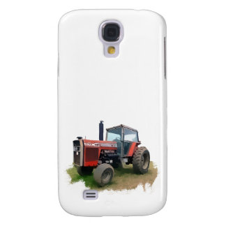 Massey Ferguson Red Tractor in the Field Galaxy S4 Cover