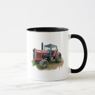 Massey Ferguson Red Tractor in the Field Mug