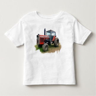 Massey Ferguson Red Tractor in the Field Toddler T-shirt