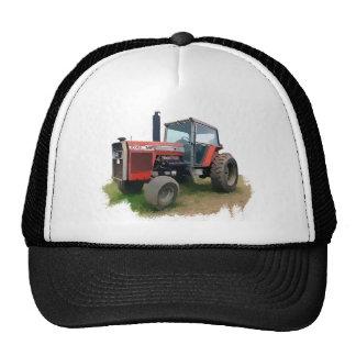 Massey Ferguson Red Tractor in the Field Trucker Hat