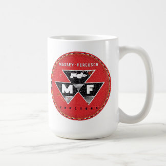 Massey Ferguson Tractor sign Coffee Mug