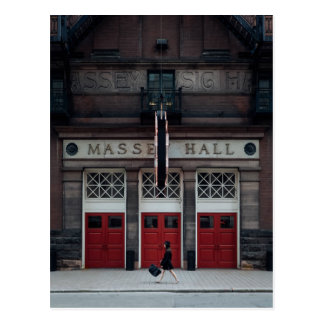 Massey Hall Postcard