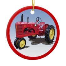 Massey Harris Model 22 Ceramic Ornament