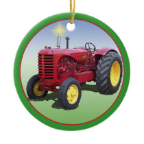 MASSEY HARRIS MODEL 55 CERAMIC ORNAMENT