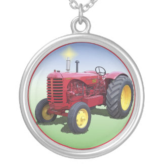MASSEY HARRIS MODEL 55 SILVER PLATED NECKLACE