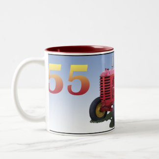 MASSEY HARRIS MODEL 55 Two-Tone COFFEE MUG