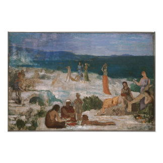 Massilia colonia griega de Puvis de Chavannes Fotografía
