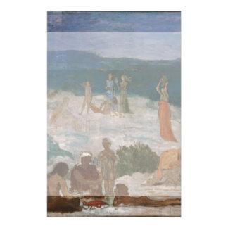 Massilia, Greek Colony by Puvis de Chavannes Flyer