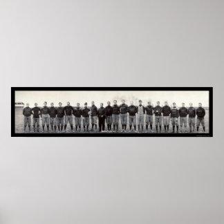 Massillon Tigers Football Photo 1905 Poster