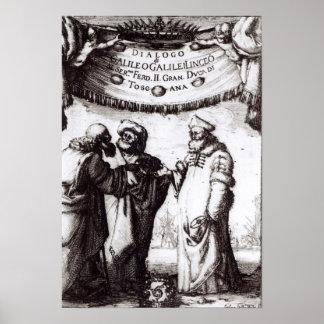 Massimi� de la deuda del sopra I de Dialogo del Fr Póster