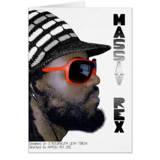 MASSIV REX WEARS CARD