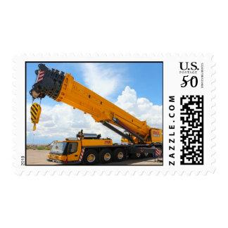 Massive Crane Postage