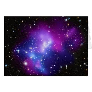 Massive Galaxy Cluster MACS J0717 Greeting Card