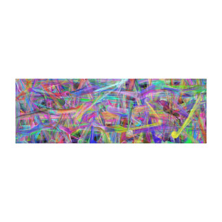 Massive Geometric Abstract by LH Canvas Print