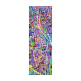 Massive Geometric Abstract by LH - Vertical Canvas Print