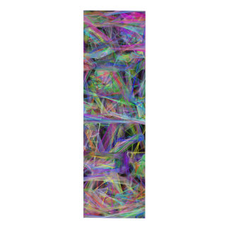 Massive Geometric Abstract by LH - Vertical Panel Wall Art