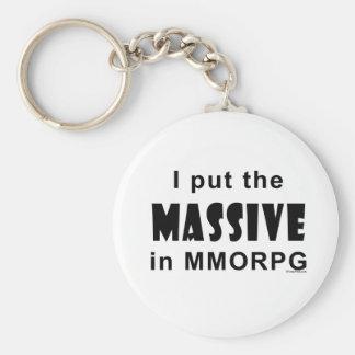 Massive MMORPG Keychain