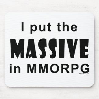 Massive MMORPG Mousepad