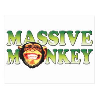 Massive Monkey Postcard