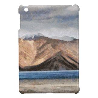 Massive mountains and a beautiful lake case for the iPad mini