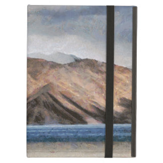 Massive mountains and a beautiful lake cover for iPad air