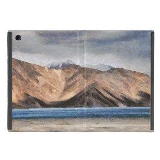 Massive mountains and a beautiful lake iPad mini cases