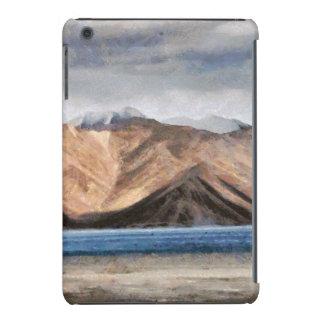 Massive mountains and a beautiful lake iPad mini retina cover