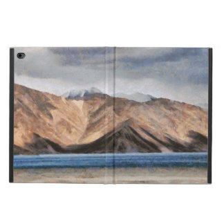 Massive mountains and a beautiful lake powis iPad air 2 case
