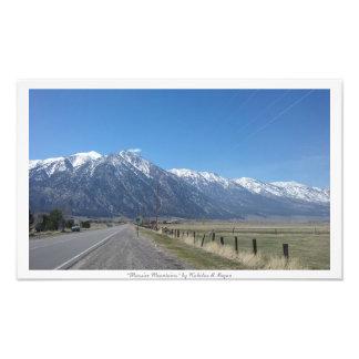 """""""Massive Mountains,"""" Sierra Nevada Nature Photo Print"""