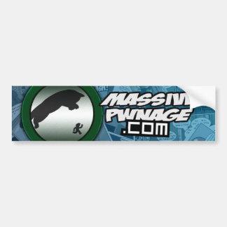 Massive Pwnage Bumper Sticker