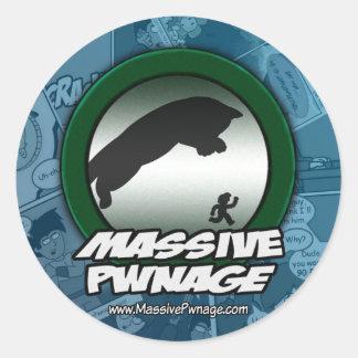 Massive Pwnage Sticker