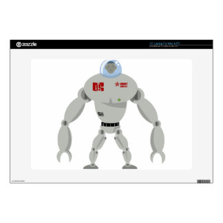 Massive Robot Decal For Laptop