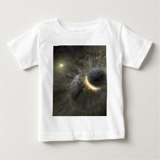 Massive smash up in Vega NASA Baby T-Shirt
