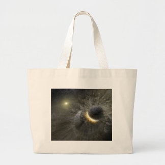 Massive smash up in Vega NASA Large Tote Bag