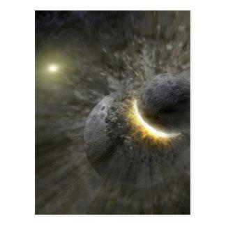 Massive smash up in Vega NASA Postcard