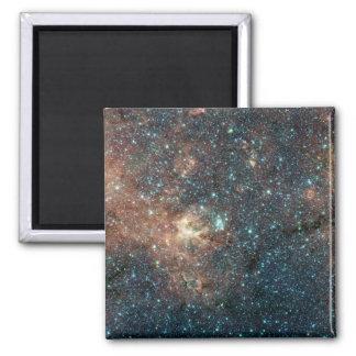 Massive Star Cluster 2 Inch Square Magnet