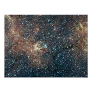 Massive Star Cluster Awash with Red Supergiants Poster