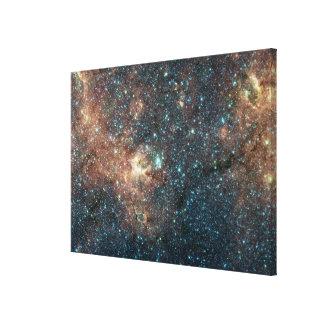 Massive Star Cluster Canvas Print