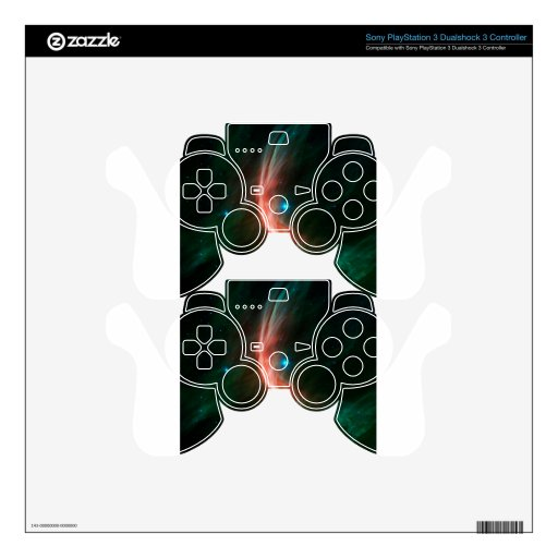 Massive Star Makes Waves PS3 Controller Skin