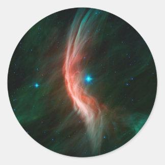 Massive Star Makes Waves Sticker