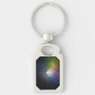 Massive Star VY Canis Majoris - Polarized Light.ai Keychains