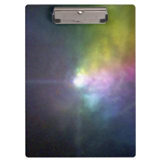 Massive Star VY Canis Majoris - Polarized Light Clipboards
