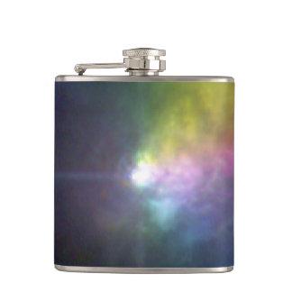 Massive Star VY Canis Majoris - Polarized Light Hip Flask