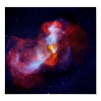 Massive volcanic attack M87 Poster