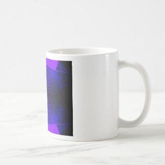 Massively Purple City Urban Night Art Geometry Mugs