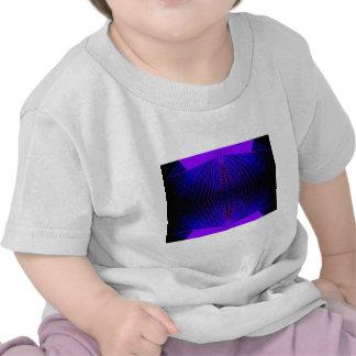 Massively Purple City Urban Night Art Geometry Tshirt
