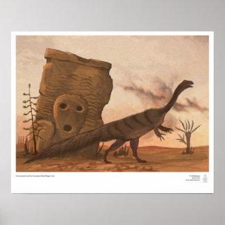 Massospondylus y el monumento caidos poster