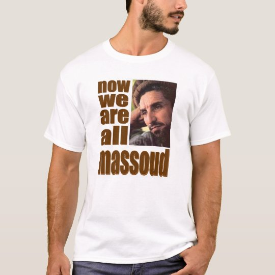 Massoud T-shirt